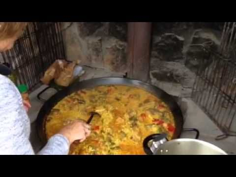 Gcse: la comida/ La paella - YouTube