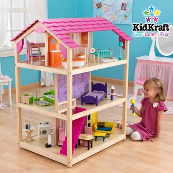 KidKraft® – So Chic Dollhouse **We own this and it is well worth the price**