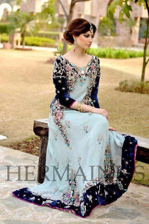 Pakistani Bridal Maxi Dresses 2016 Pakistani Bridals Choice