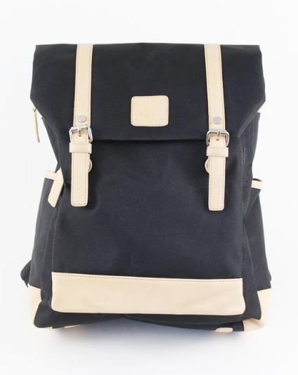 A compact version of the much-loved Cycle Backpack!  Be ready for whatever next adventure life throws at you with this nylon canvas cycle backpack.