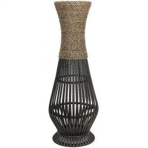 Large Metal Flower Vases