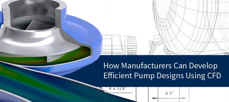 How Manufacturers Can Develop Efficient Pump Designs Using #CFD