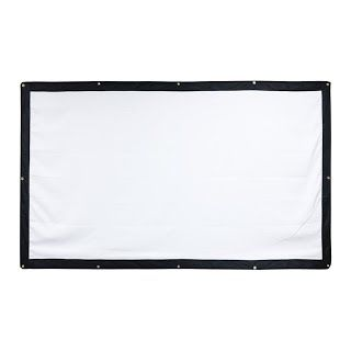[Features & Benefits] YF2009 100 Inch 16:9 DIY Portable Projector Screen,Folding Movie Screen for Projectors Outdoor/Home Theater/Education/Office Presentation