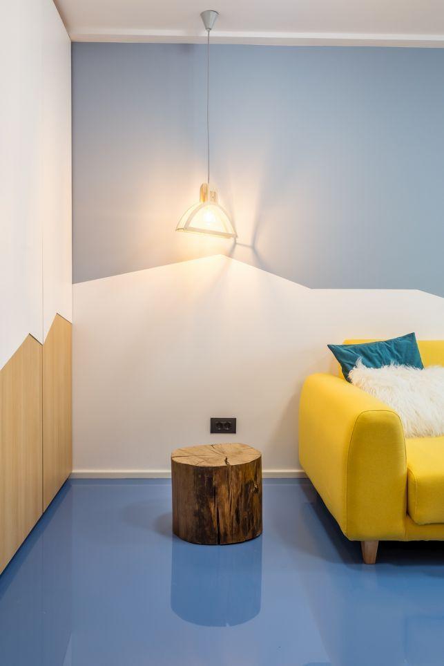 Garsoniera din Bucuresti transformata intr-un apartament de doua camere- Inspiratie in amenajarea casei - www.povesteacasei.ro