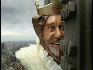 fcc6dff9a8fcec32e1c16ffb16c867c5 gif gif burger kings 23 best the queen of burger king images on pinterest burger