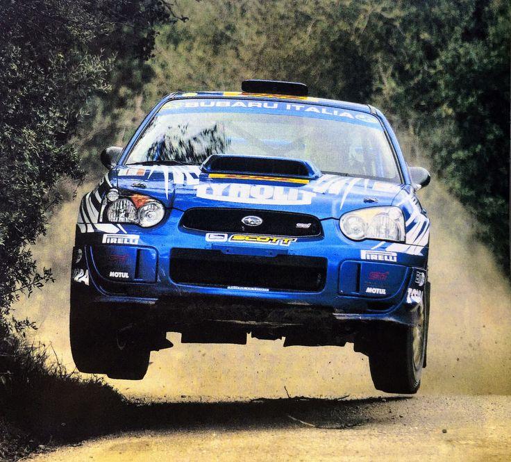 Subaru Gr.N Anton Alen Rally Costa Smeralda 2005