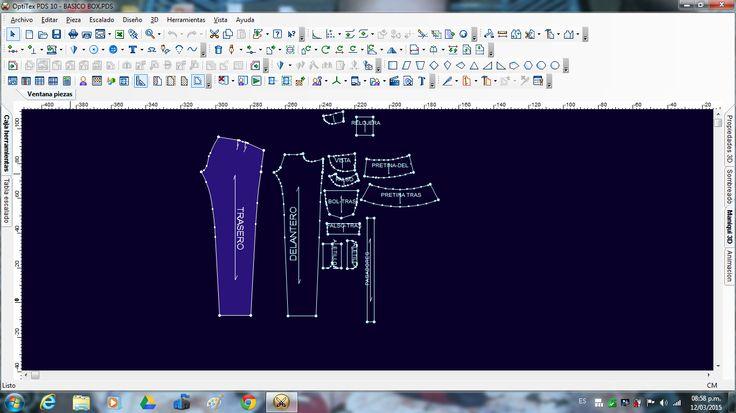 practica con mi nuevo programa optitex PDS 10 crea #moda de #moldes de todo tipo de ropa #modazeus