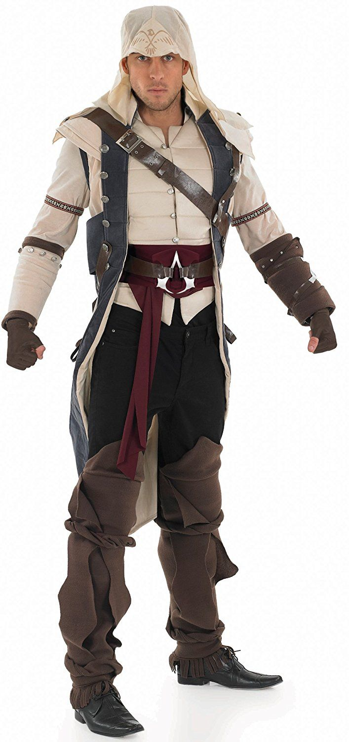 Assassin's Creed - Deluxe - Adult Fancy Dress Costume: Amazon.co.uk: Toys & Games