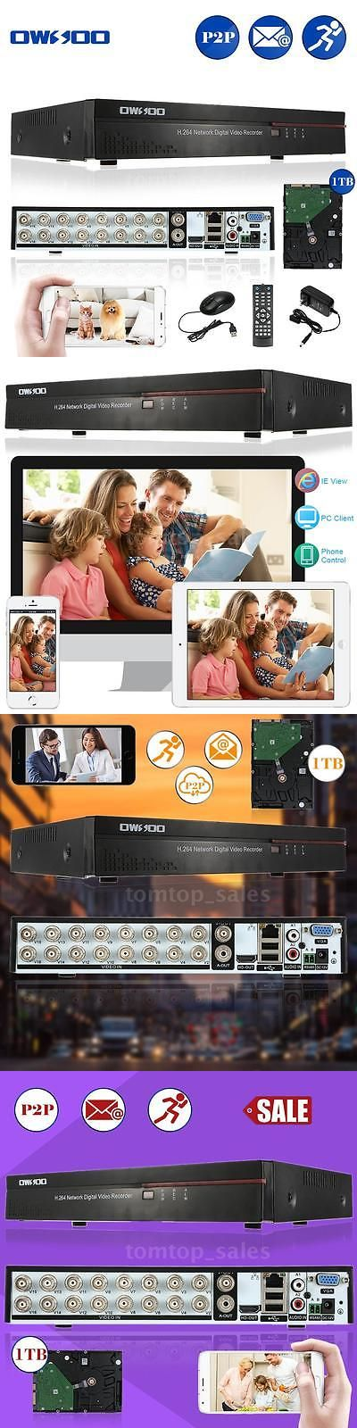 Digital Video Recorders Cards: Owsoo Standalone 16Ch Channel H.264 Cif Cctv Dvr Security System Hdmi 1Tb H6d8 BUY IT NOW ONLY: $109.69