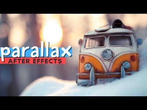 Parallax After Effects Tutorial - Photoshop,Corel Draw, After Effects,3ds Max