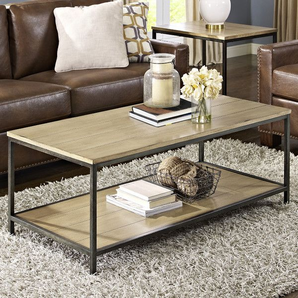 Cadence Coffee Table in 2019 Table, Contemporary coffee