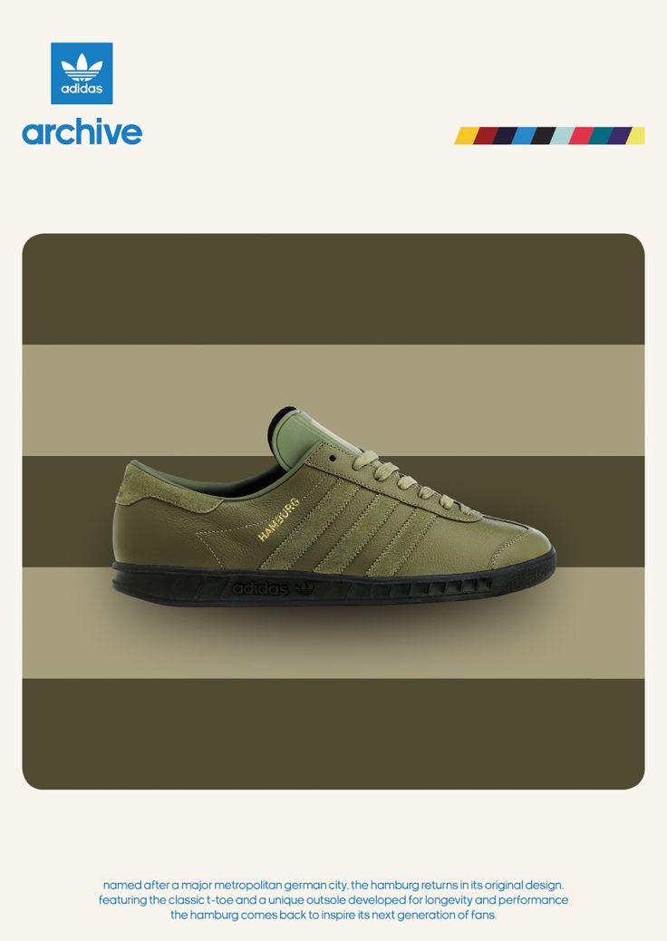 adidas Originals Hamburg \u2013 size? UK Exclusive