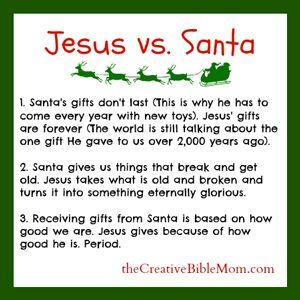 The Jesus vs. Santa Showdown: How Santa Makes Jesus Look So Good |...
