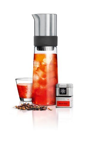 Iced tea maker TEA-JAY 800 ml Blomus - http://www.teasetsale.com/iced-tea-maker-tea-jay-800-ml-blomus-2/      $  129.99 Iced Tea Machines Product Features   Iced Tea Machines Product Description Blomus TEA-JAY 63538 Iced Tea Maker Related Iced Tea Machines Products