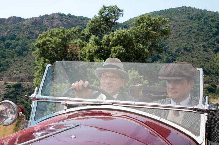 MAGIC IN THE MOONLIGHT, Simon McBurney, Colin Firth, 2014 | Essential Film Stars, Colin Firth http://gay-themed-films.com/film-stars-colin-firth/