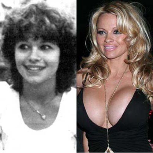 Pamela Anderson - 25 Celebrities Before And After Fame   SMOSH