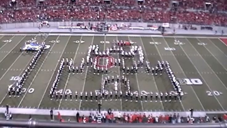 The halftime show at this week's Nebraska / Ohio State football game featured the marching band, as usual, but its performance was likely quite special to any video gamers in the crowd. The band's...