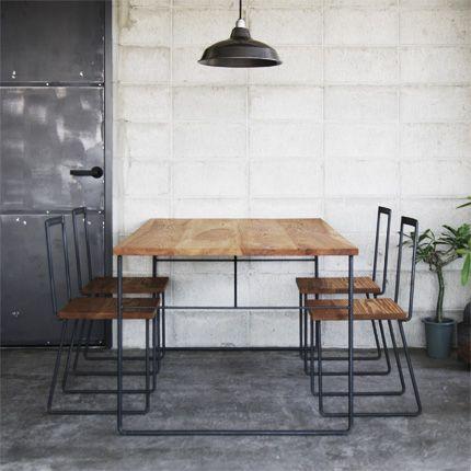 [HACHI] WI DINING TABLE - 【HACHI KAGU ONLINE SHOP】オリジナル家具・インテリア雑貨・革小物・観葉植物・ガーデン用品のオンラインショップ