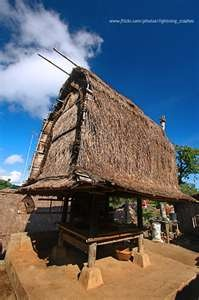 "Lombok's traditional house,.. ""sasak"""