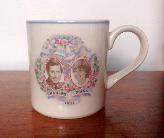 Royal Wedding Souvenir Mug J G Meakin 1981