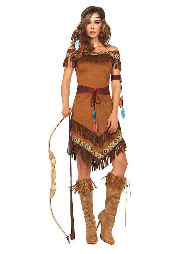 Prärie Prinzessin Kostüm