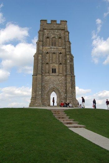 Glastonbury, England. Beautiful ruins. Where King Arthur was supposedly buried.