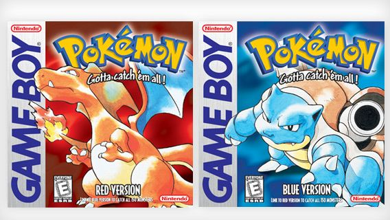 Pokémon™ Red Version and Pokémon™ Blue Version