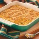 Scalloped Corn Bake - Use Ritz crackers