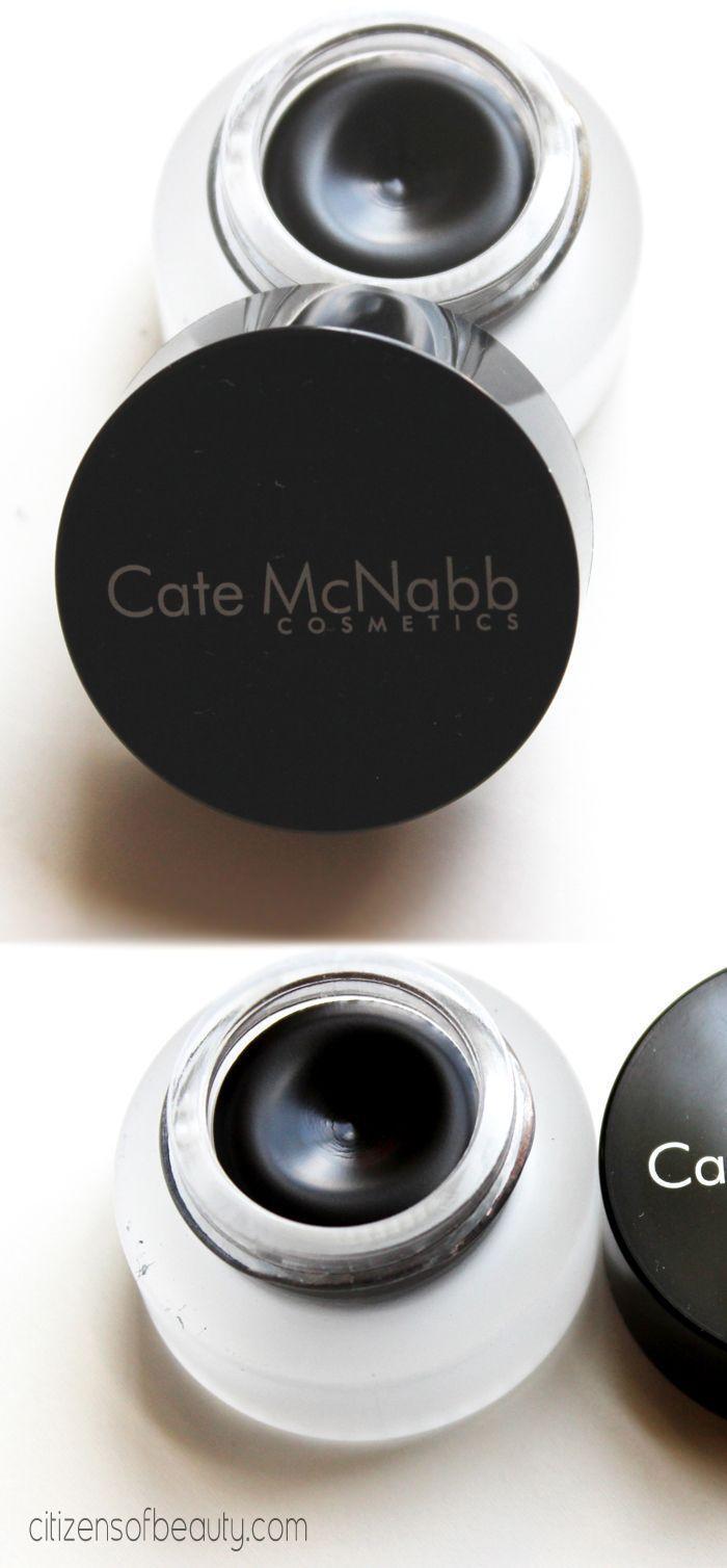 Cate McNabb Gel Liner #Review @catemcnabb #Eyeliner #black