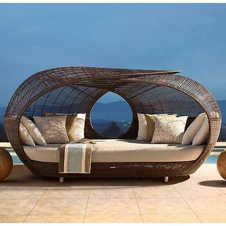 Summer Daydreamin.....: Outdoor Beds, Restoration Hardware, Outdoor Furniture, Spartan Daybeds, Lounges, Patio, Places, Beaches Houses, Pools