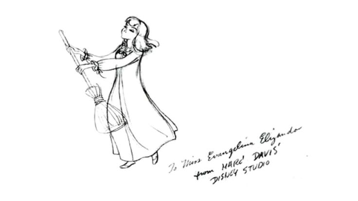 Original Cinderella sketch