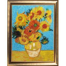 Набор для вышивания бисером Butterfly 271 Подсолнухи по мотивам В. Ван Гога