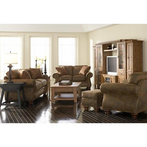 Broyhill Furniture Laramie Sofa w/ Nail Head Trim