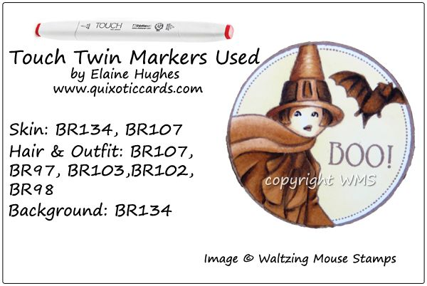 Touch Twin Challenge TTC27 – BOO! – Quixotic Cards