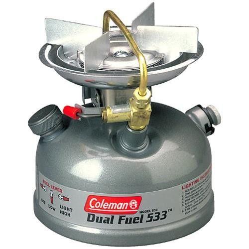 Coleman 1 Burner Dual Fuel Sportster Stove Grey 3000003654