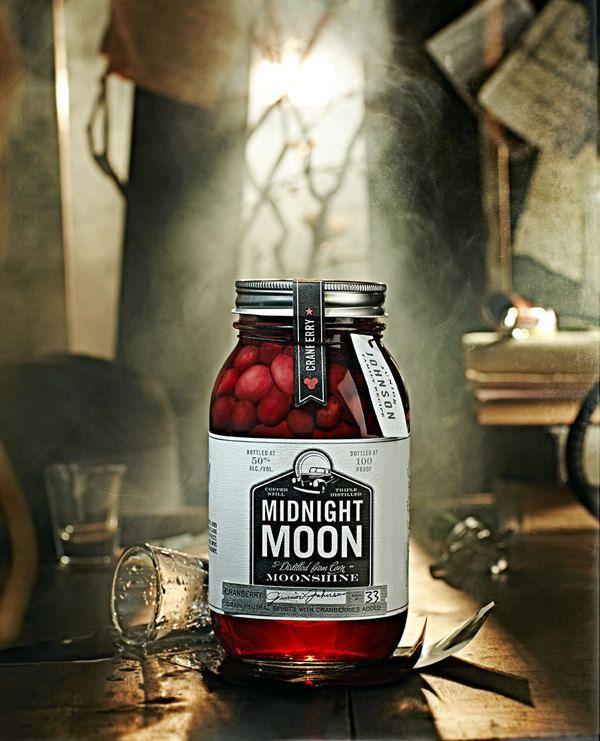 MIdnight Moon Moonshine by Vanessa Rees, via Behance