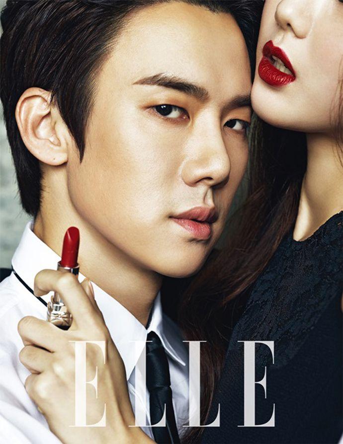 Yoo Yun Suk - Elle Magazine December Issue '13