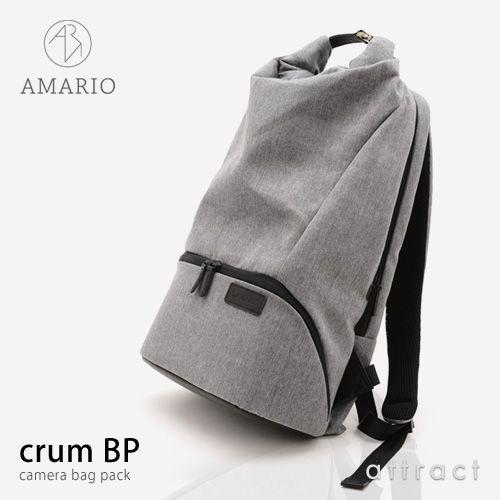 【正規販売店】AMARIO(アマリオ)camerabag(カメラバッグ)crumBP(クルムバックパック)カラー:全3色(30Lサイズ)(一眼レフ対応インナーケース付属・13インチPC対応)(カバンカメラテント生地カジュアル)【smtb-KD】
