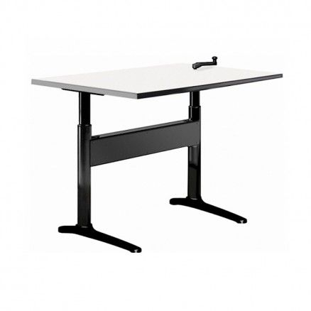 Workrite Proliftix TKCB - Crank operated height adjustable table.  FREE shipping in Canada at Ugoburo.ca