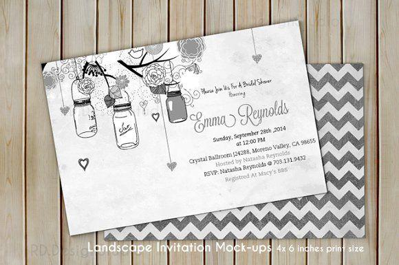 4x6 Inches Invitation Card Mockup Invitation Mockup Mockup Free Psd Business Card Mock Up