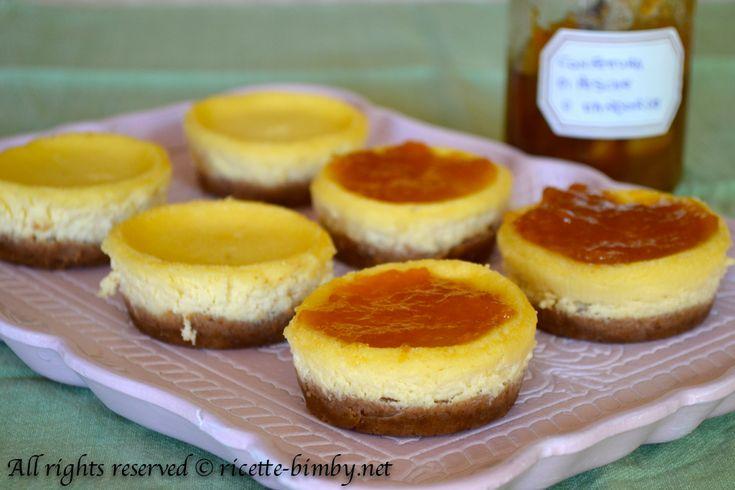 Cheesecake monoporzione Bimby • Ricette Bimby