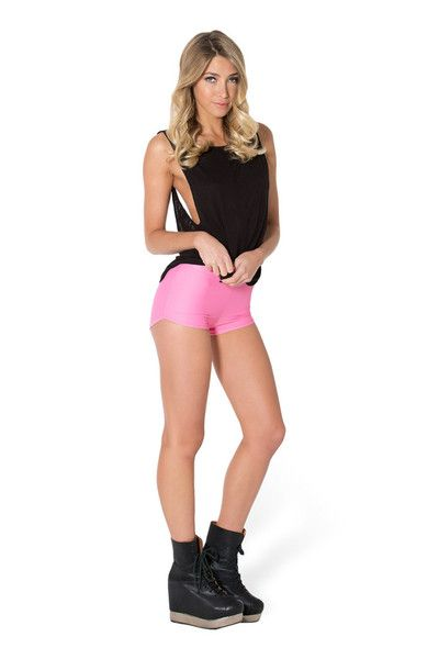 Matte Pink Bummers by Black Milk Clothing $30AUD ($25USD)