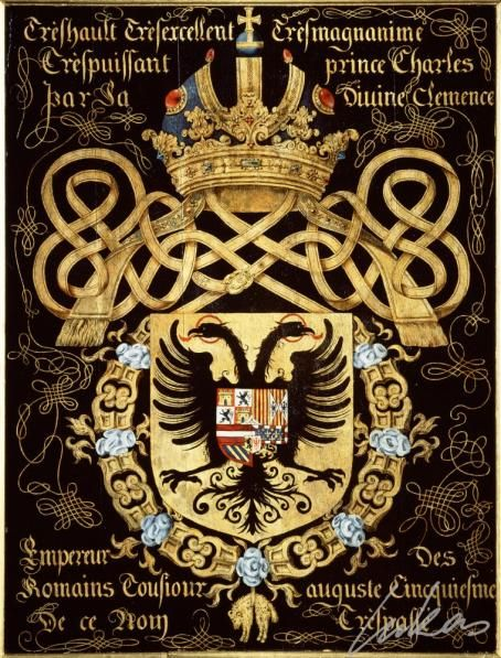 Armorial plates from the Order of the Golden Fleece  Photo number:  0010257000 Artist:  Lukas de Heere Period (century):  16th century