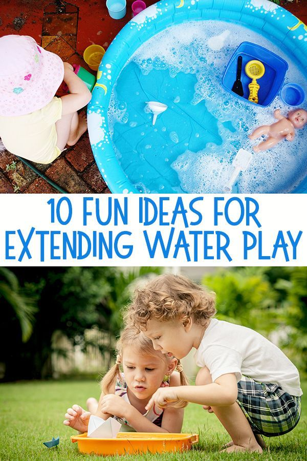 10 Easy Ways To Extend Water Play Water Play Water Play