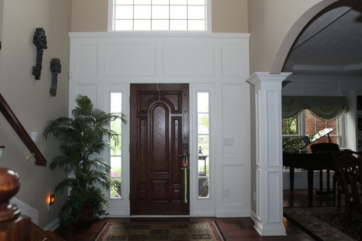 Two Story Foyer Trim Work : Best images about trim ideas on pinterest columns