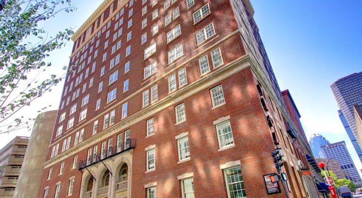 泊ってみたいホテル・HOTEL|アメリカ>ボストン>ボストンのバック・ベイにある歴史的建造物を利用したホテル>ホテル 140(Hotel 140)