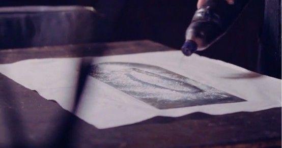 Still from Giorgio Upiglio atelier video