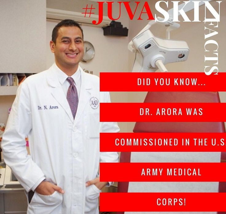 Dr. Arora was commissioned in the United States Army Medical Corps. He then completed his internal medicine internship at Tripler Army Hospital in Honolulu, follow by a Dermatology residency at Walter Reed Army Medical Center. Dr. Arora served in a variety of leadership roles, culminating as Chief of Dermatology at Tripler Army Medical center, which is the largest military hospital in the Pacific theater. He also completed a tour duty in Baghdad, Iraq. Learn more here: www.JuvaSkin.com