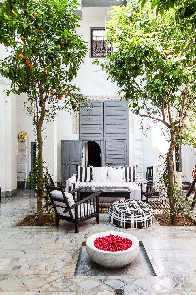 Beautiful riad dar kawa in Marrakech for DEKO magazine photo Riitta Sourander