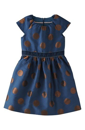 Mini Boden Brocade Dress (Toddler Girls) available at #Nordstrom